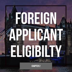 Foreign Applicant Eligibility